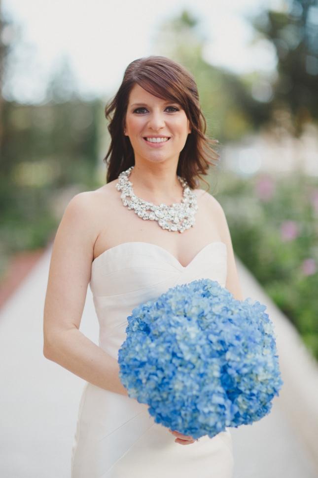 The Robinsons, Alfond Inn, Lee James Floral Designs, Orlando wedding florist, blue bridal bouquet