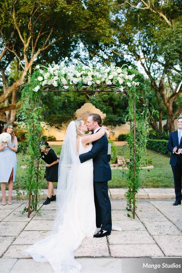 Garden Wedding, Floral Arch