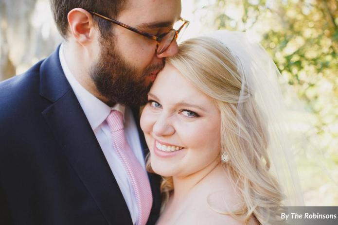 southern elegance wedding bride and groom